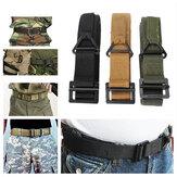 KALOAD sangle de ceinture tactique de survie ceinture de protection militaire de sauvetage de secours pour la chasse