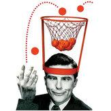 Баскетбол Хооп игра головой круг выстрел пластиковые корзины родитель - ребенок интерактивные игрушки шляпа