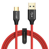 BlitzWolf® AmpCore Turbo BW-TC9 3A Braided Durable USB 3.0 to Type-C Charging Data Cable 3ft/0.9m