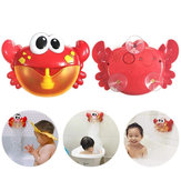 Big Crab Bubble Machine Tub Automatic Bubble Maker Blower 35 Musica Songs Toy Bubble Blower