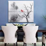 現代の鳥の壁のステッカープリントキャンバス絵画画像家の壁アート装飾フレームなし