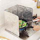 AlüminyumFolyoYağBlokYağBariyer Soba Pişirme Isı Yalıtım Anti-Sıçrama Yağ Baffle Mutfak Eşyaları Malzemeleri