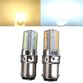 Dimmable BA15D 3W White/Warm White 3014SMD LED Bulb Silicone 110-120V