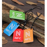 (4 Pcs/Lot) Ntag216 NFC Blank Tags Key Token 13.56mhz RFID Smart Tag Card for All NFC Android Phone