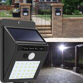 Solar Power 30 LED PIR Motion Sensor Wall Light Impermeable al aire libre Path Yard Garden Security Lámpara