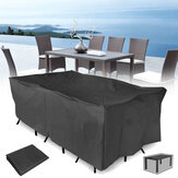 320x220x70CM Outdoor Garden Patio Furniture Waterproof Dust Cover Mesa Chair Sun Shelter