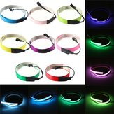 Colorful  Electroluminescent Tape EL Wire 8 Colors Inverter DC 12V 60cm*14mm