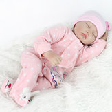 22inch Reborn Baby Doll Silicone Handmade Lifelike Dolls Play House Toy