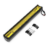 22Inch 162W Tri Row 108LED Work Light Bar Flood Spot Combo Lamps Bar for Offroad 4WD SUV Truck