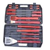 Herramienta de barbacoa portátil establecer buen ayudante barbacoa parrilla exterior de picnic utensilios de cocina barbacoa