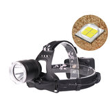 XANES® 2810 1800LM XHP50 LED Headlamp 18650 Battery USB Interface 3 Modes Waterproof Camping Hiking Cycling Fishing Light Portable Flashlight