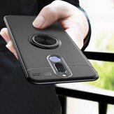For Xiaomi Redmi 8 Case Bakeey 360º Rotating Magnetic Ring Holder Soft TPU Shockproof Protective Case