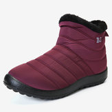 Dames Plus Maat Waterbestendig Soft Sole Warme Snowboots