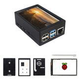 3.5インチTFT 480 * 320 50FPSタッチスクリーンディスプレイABS Raspberry Pi 4 Model B用ケースキット