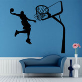 Verwijderbare basketbal Dunk Sport DIY muursticker kinderkamer Art Decor Decals