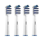 EB-30A 4PCS Universial Replacement Toothbrush Heads For Oral Care Electric Toothbrush Heads