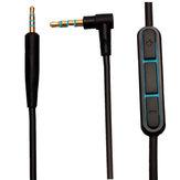 1,5 m Vervanging Audio 2,5 tot 3,5 mm kabel voor Boses Quiet Comfort QC25 Hoofdtelefoon MIC
