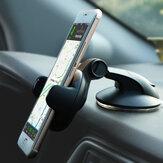 Obrotowy wielofunkcyjny przyssawka Bakeey 360 stopni Auto Lock Uchwyt samochodowy na telefon stacjonarny do smartfona o szerokości 5-8 cm