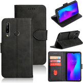 Bakeey Card Slot Bracket Flip PU Leather Full Body Protective Case for Doogee N20