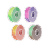 TWO TREES® Multi-color 1KG 1.75mm 3D Printer PLA Filament Color Changes as Temperature