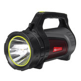 2000M 8000LM USB Rechargeable Poratble Flashlight Outdoor LED Searching Light