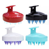 Silicone Shampoo Scalp Shower Washing Head Hair Massager