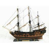32 Zoll Schiff Montage Modell DIY Kits Holz Segelboote Dekoration Spielzeug DIY Geschenk
