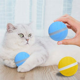 LED Pet Motion Ball Toys Flash Electric Activated Cat Dog Playing Waterproof