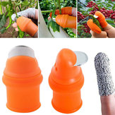 Drillpro Thumb Cutter Finger Cutter Picking Device for Cutting Vegetable Cutter Agricultural Picking Grape Pepper Tools