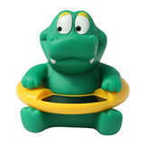 Cute Baby Thermometer Bath Toys Gift LCD Display Crocodile Thermometer
