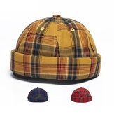 Verhuurder Cap Dome Cap Innocent Plaid Sailor Cap