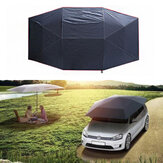 400x210cm Folded UV Oxford Cloth For Car Sun Shelter Umbrella Tent Canopy Roof Cover Sunshade