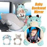 Espejo retrovisor del asiento de seguridad del bebé Espejo retrovisor para Coche Vista Infantil mirando hacia atrás recién nacido