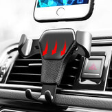 Universal Gravity Black Car Air Outlet Bracket Phone Holder