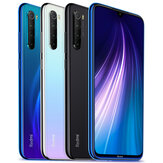 Xiaomi Redmi Note 8 Global Version 6.3 inch 48MP رباعي Rear الة تصوير 4GB 64GB 4000mAh Snapdragon 665 ثماني core 4G الهاتف الذكي