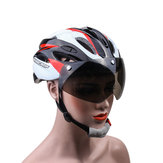 Basecamp Goggles Visor Bicycle Helmet Road Ciclismo Mountain Bike Casco ajustable