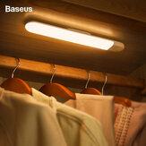 BaseusArmáriodeInduçãoparaCorpo Humano Luz USB Recarregável Lâmpada de Cabeceira LED Branco / Quente Luz Noturna Para Armário Armário Escadas