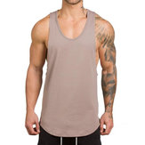 Sleeveless Cotton Breathable T Shirts