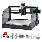 Atualização 3018 pro Off-line CNC Max Laser Gravador GRBL DIY 3 Eixos PBC Fresagem Laser Máquina de Gravura Roteador De Madeira