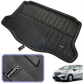 Forro Traseiro Do Tronco Do Carro Boot Cargo Mat Para Honda Fit / Jazz Hatchback GK5 2014-2019