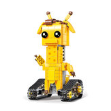 Mold King DIY Inteligentny robot RC 2.4G Stick Control Block Building Montowany robot Toy Prezent