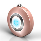 Bakeey Wearable Air Purifier Necklace Mini Portable USB Air Cleaner Negative Lon Generator Low Noise Air Freshener