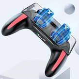 Bakeey H10 Wireless Gamepad Portable Joystick Gaming Controller With Cooling Fan For iPhone  X XS Xiaomi Mi9 S10+ Note 10