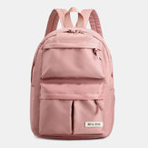 Women Nylon Waterproof Large Capacity Handbag Backpack