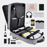 Men Large Capacity USB Outdoor Travel Backpack