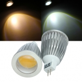 Dimmable MR16 LED Bulbs 7W COB 12V Warm White/White Spot Light