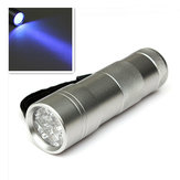 12 LED Ultra Violet UV Black Light LED Flashlight Torch