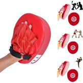 Boxing Training Mitt Doel Focus Punch Pad Handschoen Voor MMA Karate Muay Thai Kick