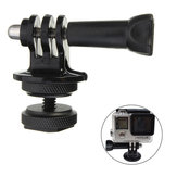 1/4 Inch Hot Shoe Adaptor With Tripod Mount Screw For GoPro Xiaomi Yi SJcam DSLR Camera
