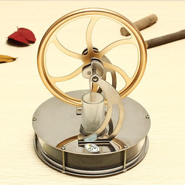 STEM Low Temperature Difference Stirling Двигатель DIY Коллекция подарков для подарков